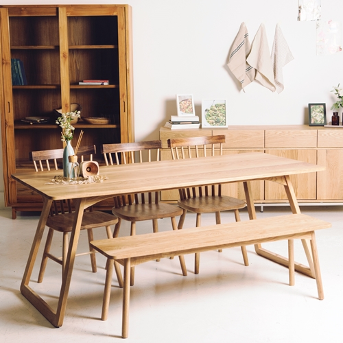 [Berhe] Dining Table / Oak /1600