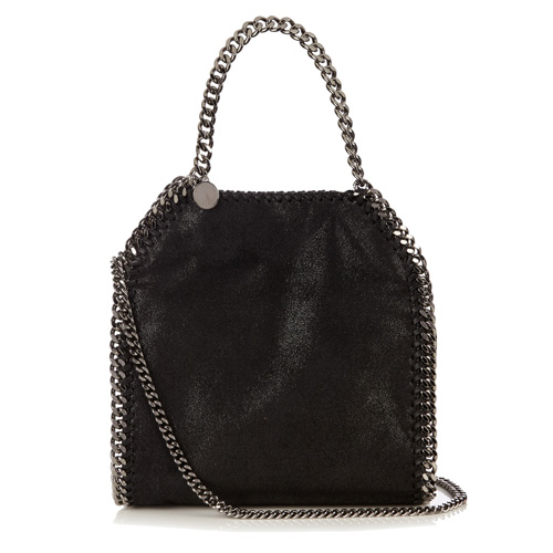 Falabella faux suede cross body bag