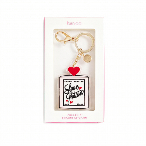 LOVE POTION SILICONE KEYCHAIN (키링)